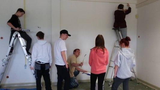 Jugendliche in Aktion