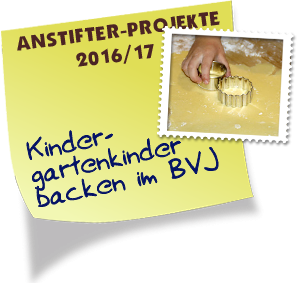 Kindergartenkinder Backen